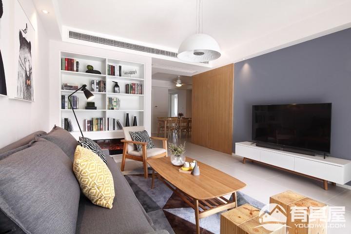 三室两厅日式简洁风格设计效果图欣赏