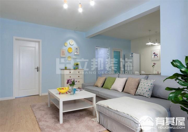 招商海德公园三室两厅现代简约风格设计效果图欣赏