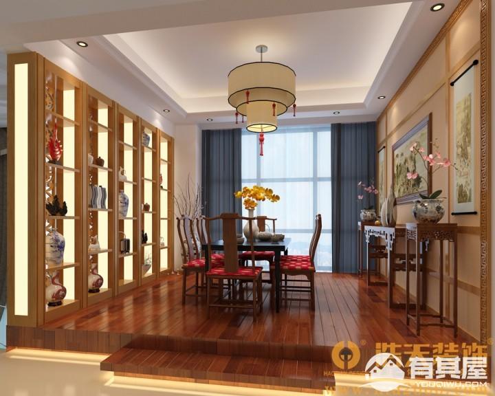 幸福城四室两厅现代简约设计效果图