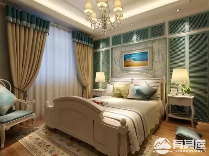 永泽五里州三室两厅家装地中海风格设计效果图欣赏