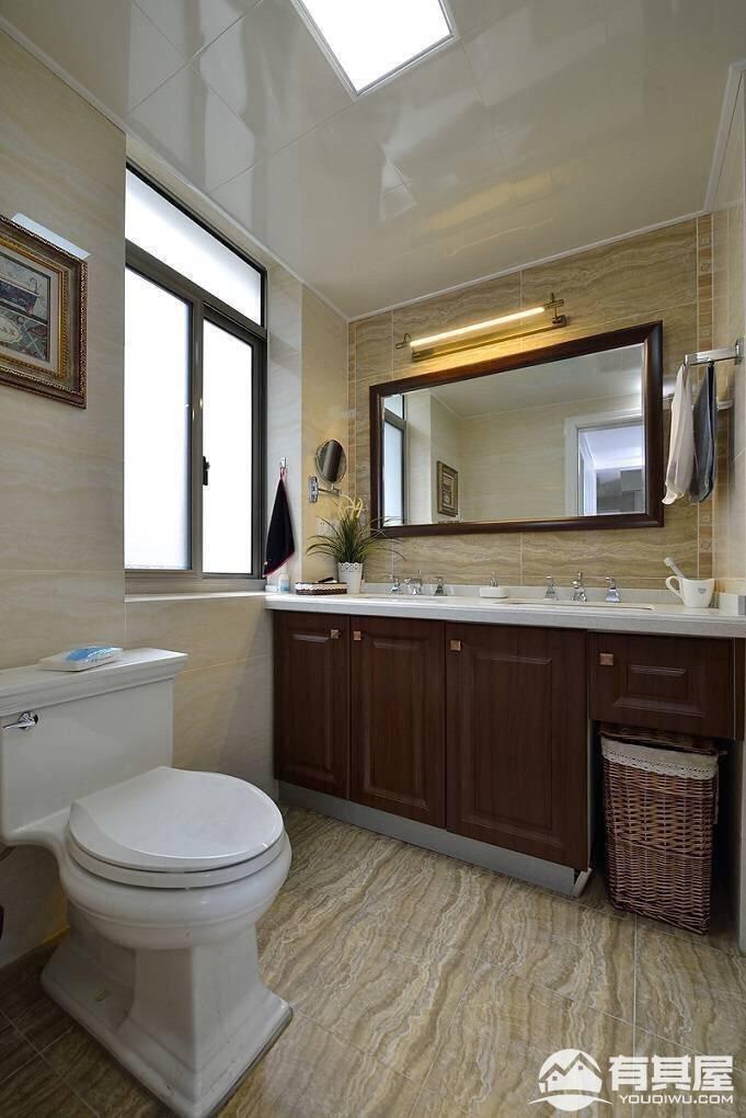 阿卡迪亚118平三室两厅现代简约风格设计效果图