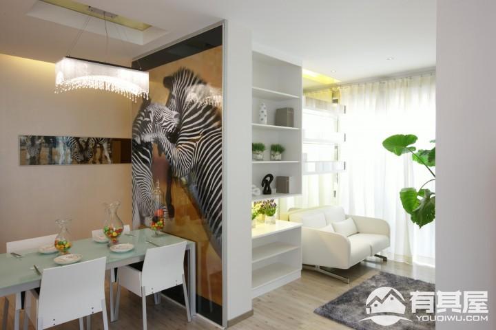 三室两厅现代简约风格装修设计效果图欣赏