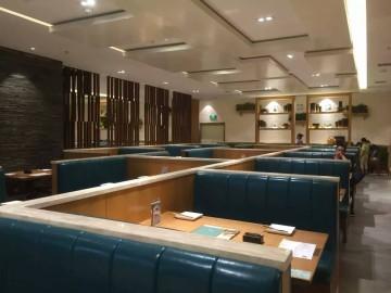 峨眉小镇餐厅装修设计效果图案例欣赏