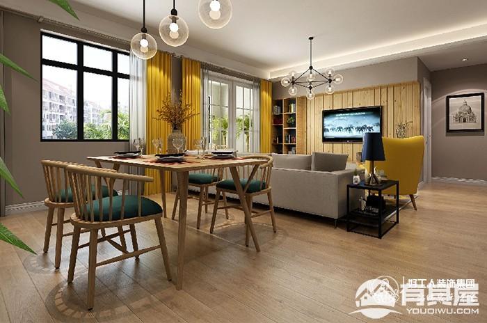 锦绣天地三室两厅欧式风格设计效果图欣赏