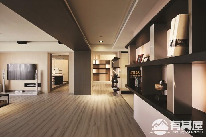 高品位180平现代简约风格装修样板房