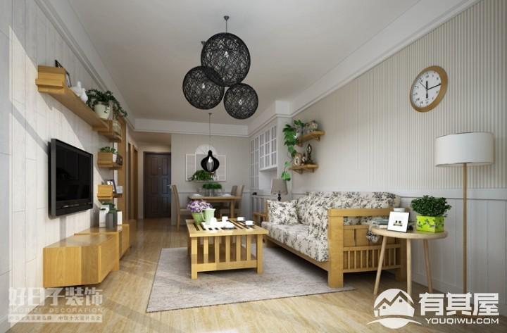 丞相坊两居室小户型现代装修设计效果图欣赏