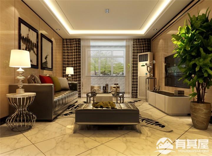 100平现代风格室内装修设计方案