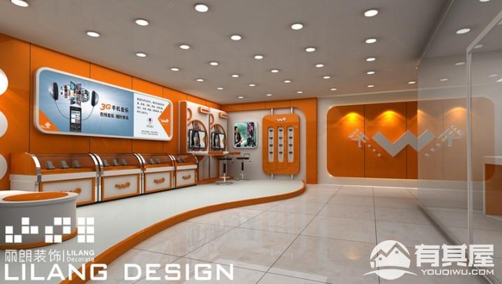 中国联通专卖店装修设计效果图欣赏