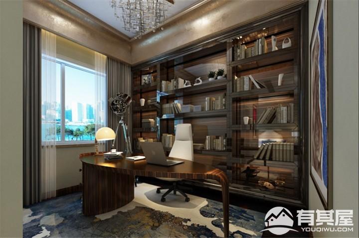 四居室新古典混搭风格室内装修图片
