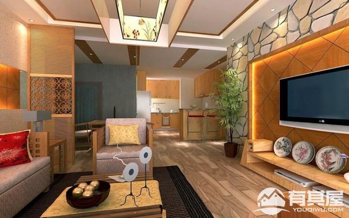 彩云间东南亚风格室内装修设计图