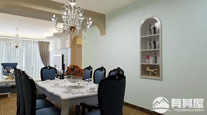 西南海地中海风格三居室装修效果图