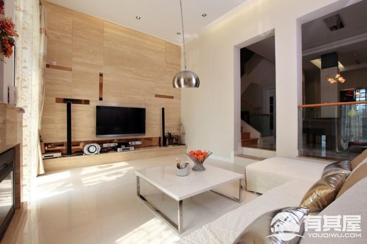 现代简约别墅风格设计效果图案例欣赏