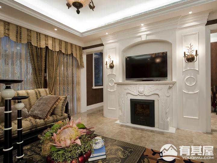 三室两厅家装北欧风格设计效果图
