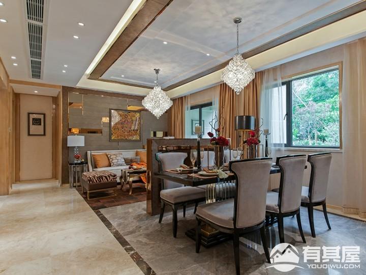 三室两厅家装港式风格设计效果图