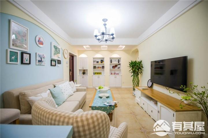 三室两厅家装混搭风格设计效果图欣赏