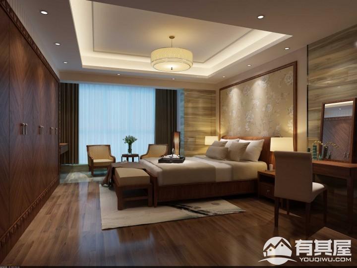 华侨海景城马尼拉楼复式楼混搭装修效果图