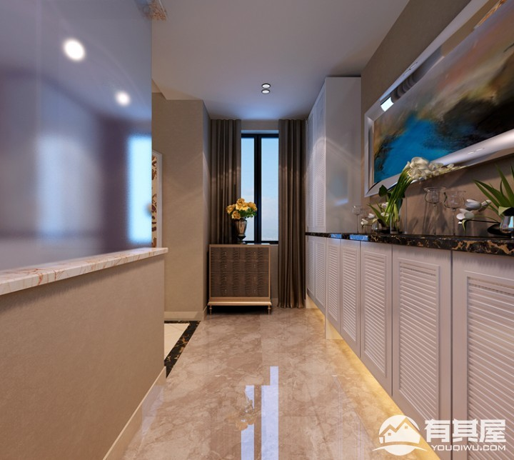 天湖城简约风格室内装修装饰效果图