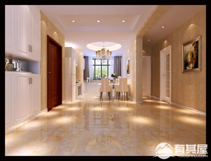盛世华庭三室两厅现代简约装修