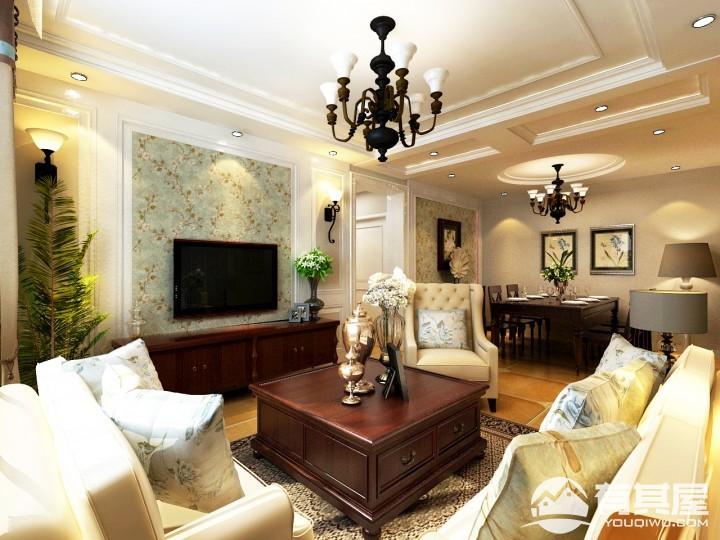 瑞城简约美风格家庭装修效果图