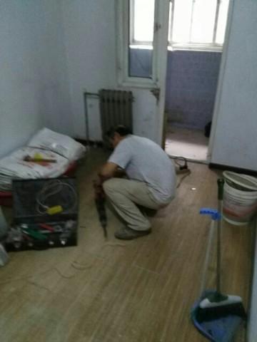現代簡約兩室兩廳裝修過程