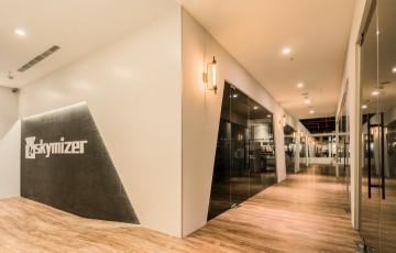 金叶科技园现代简约装修设计效果图案例欣赏