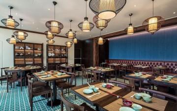 浙家菜馆现代装修设计效果图案例欣赏
