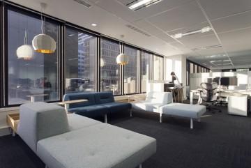 万科星火工业园办公室装修设计效果图案例欣赏