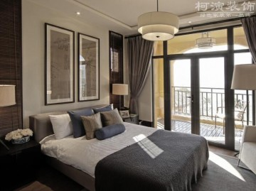 龙城一号159平三室两厅东南亚风格设计效果图