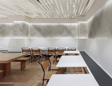 餐厅室内装修设计现代简约效果图