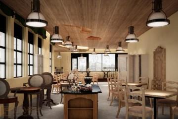 吸引顾客新颖餐厅装修设计图片