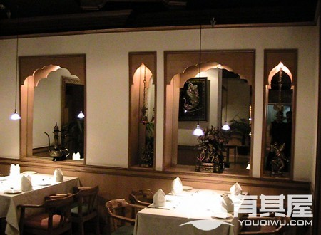印度风格餐厅装修案例