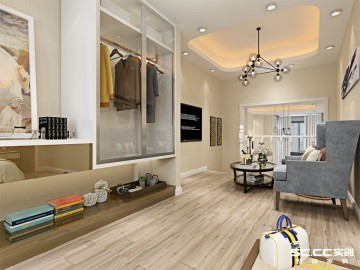 银盛泰德郡210平新古典别墅装修设计