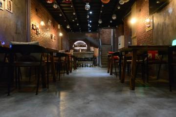 隆福花园Loft风格韩国啤酒屋装修效果图5