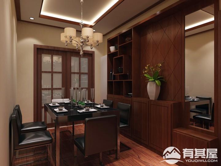 紫荆佳苑中式风格室内装修图片