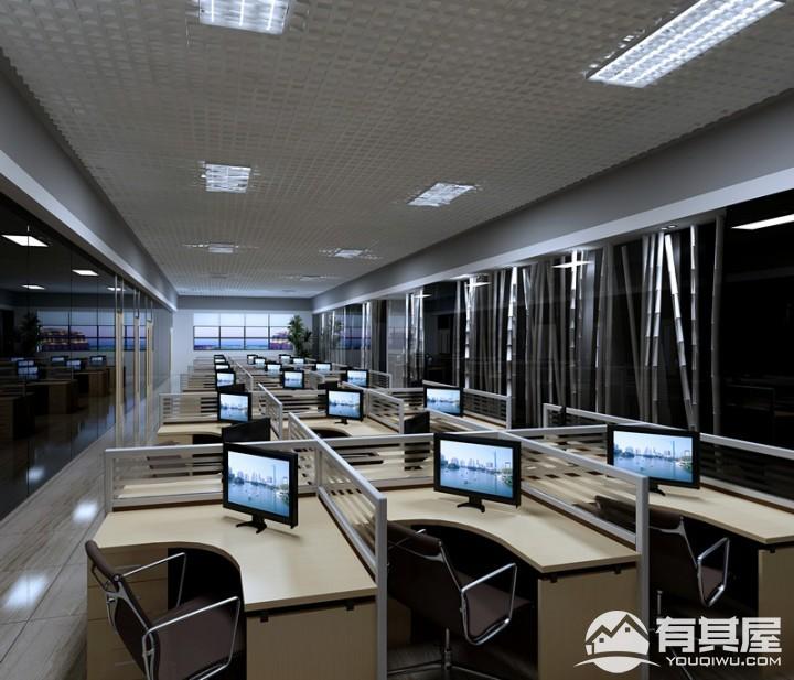 江西合力泰微电子有限公司办公室装修设计