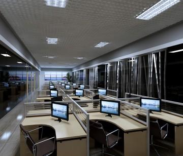 员工办公区