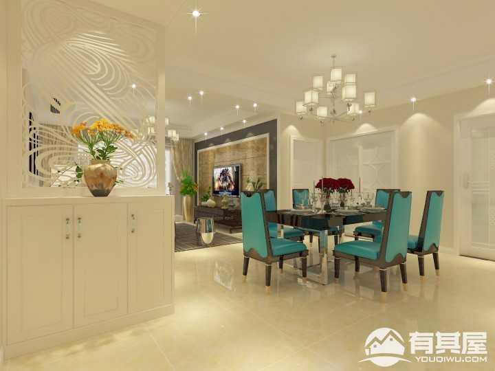 香提雅居时尚现代风格家庭装修效果图