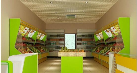 深圳裝修效果圖解析 水果店裝修設計如何做