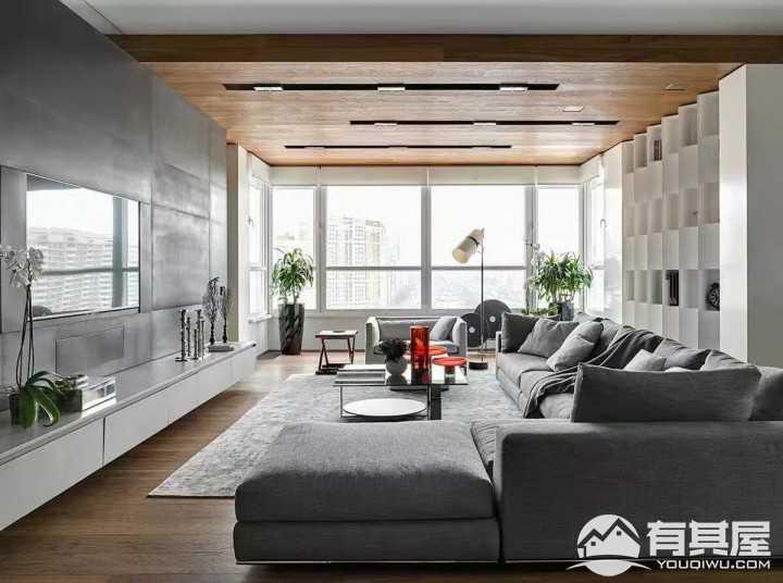 时尚简约装修风格三居室设计