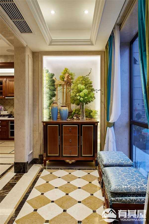 泰顺香江花园欧式风格别墅装修样板房