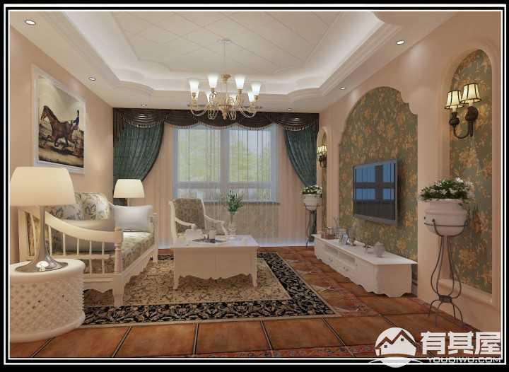 风尚米兰简美风格家居装修效果图