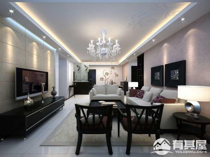 樱花小镇新中式风格室内家装设计