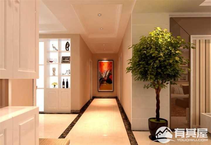 舒适现代风格107平米装修设计图片