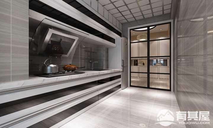 松浦观江国际美式风格二居室装修图片