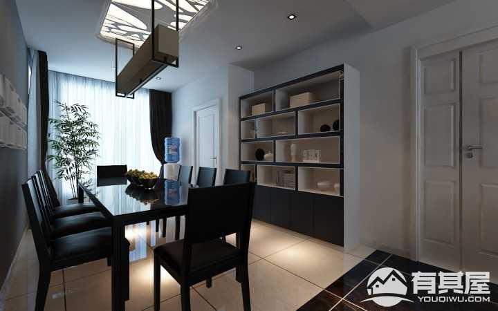 恒盛豪庭120平米现代简约风格案例