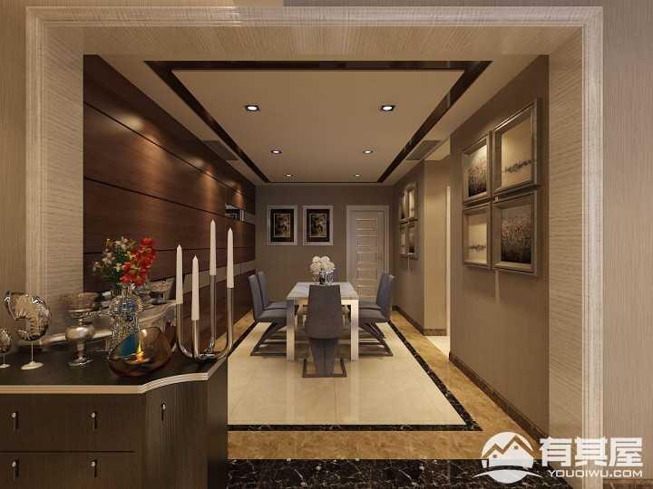 澳洲城新古典风格三居室装修设计