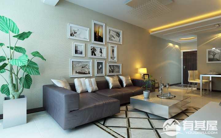 中海和平之门现代风格家居装修效果图