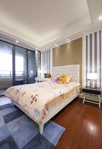 汇景轩欧式装修风格三居室设计案例