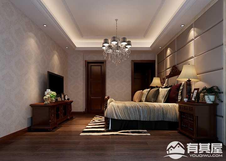 茶南小区四居室美式装修案列