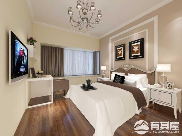 中澳丽珠花园二居室北欧风格设计方案